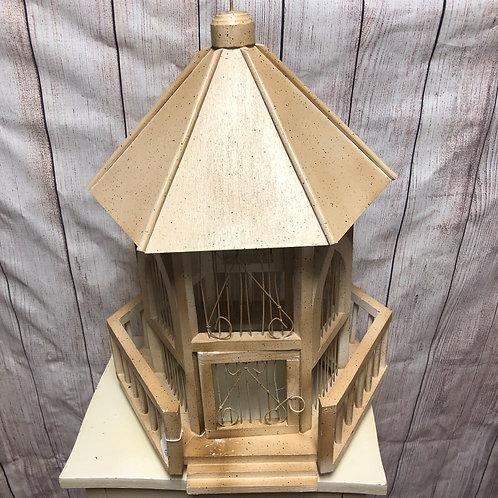 Wood & Metal Bird Cage