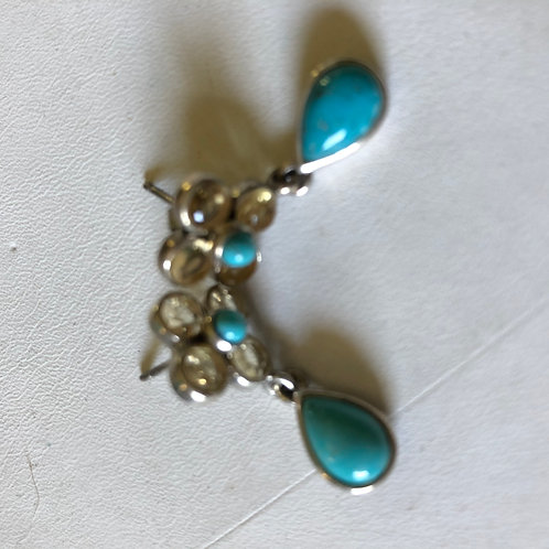 Torquoise & Sterling Earrings