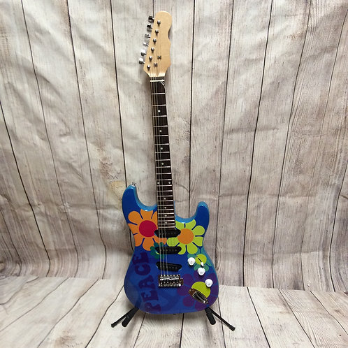 Custom Painted Limited Edition Electric Guitar