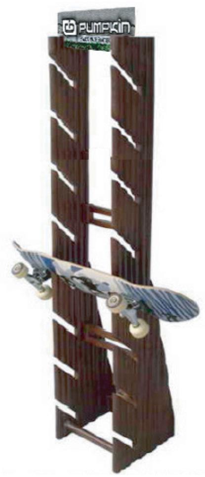 Viking Bamboo 3-Rack