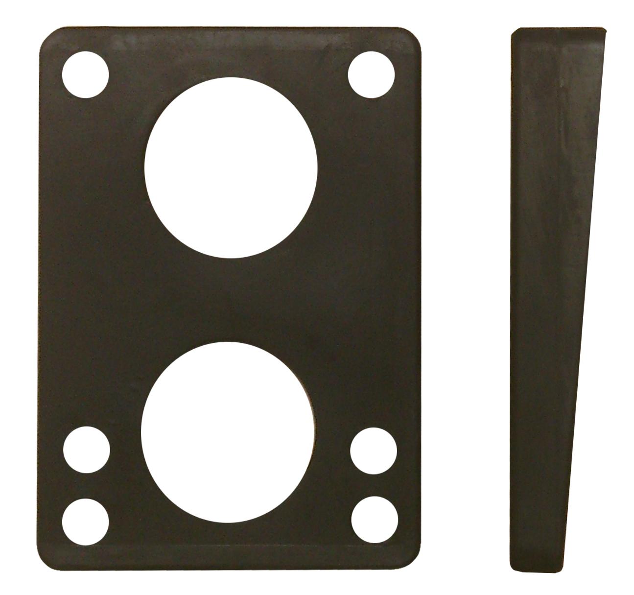 Viking 7° soft rubber pad