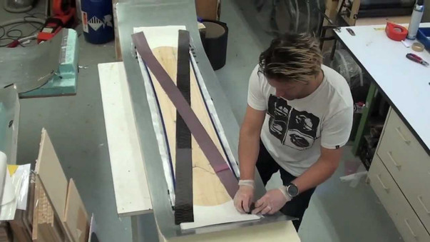 How to build a snowboard Part 2