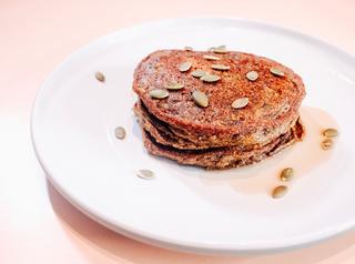 Spicy Pancakes de Calabaza (Ayote)