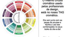 Vista-se com mais harmonia entre as cores! Aprenda com 4 dicas a usar o nosso Tag cromático.