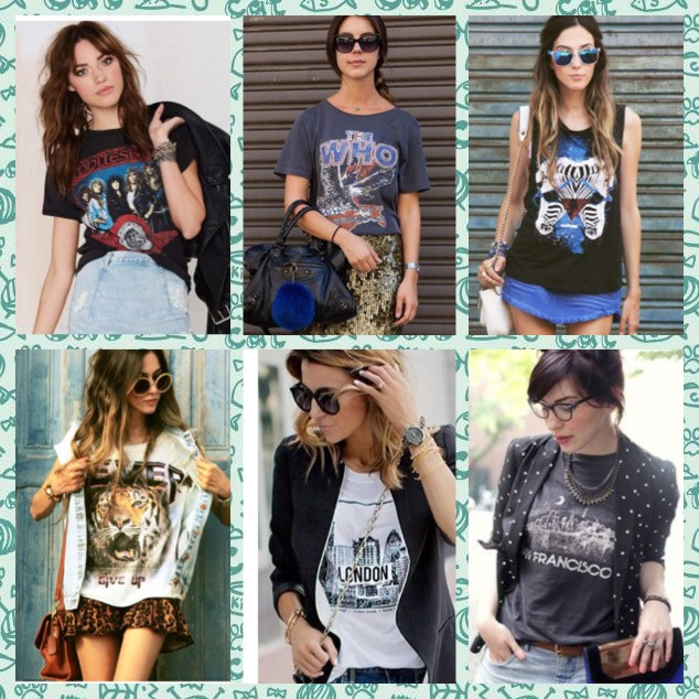 Lifestyle: 6 looks com T-shirts ultra despojadas