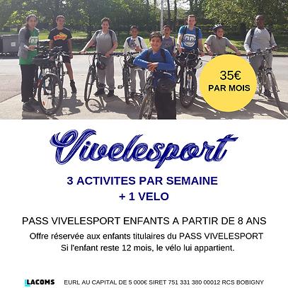 Location de VTT PASS VIVELESPORT