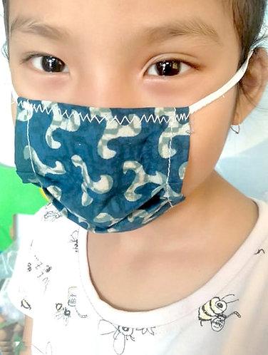 Assorted Organic Cotton Kids Face Mask