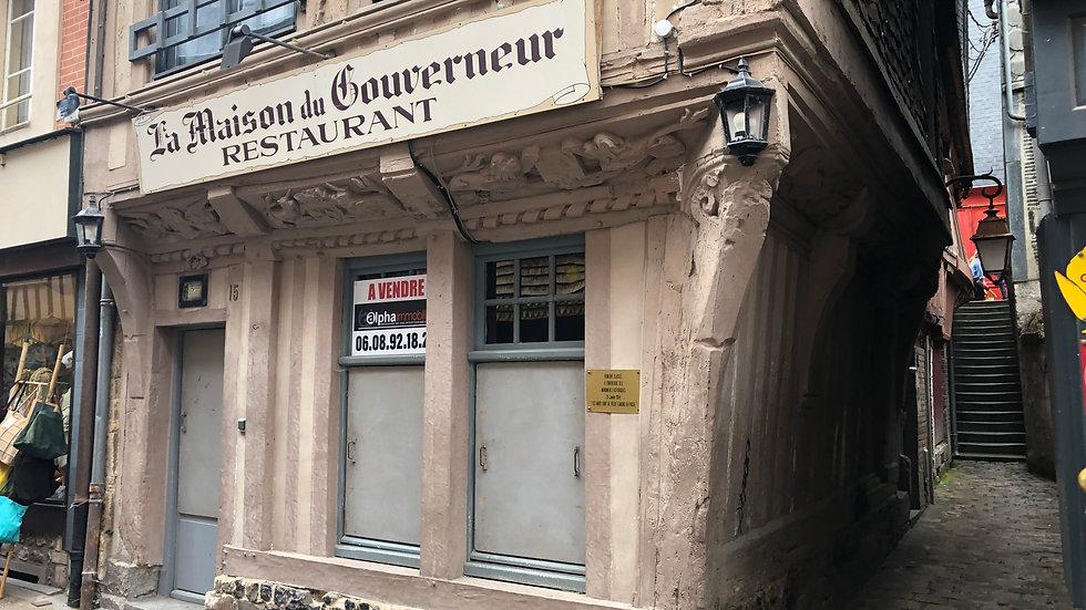 Fond de commerce              (14600)    HONFLEUR