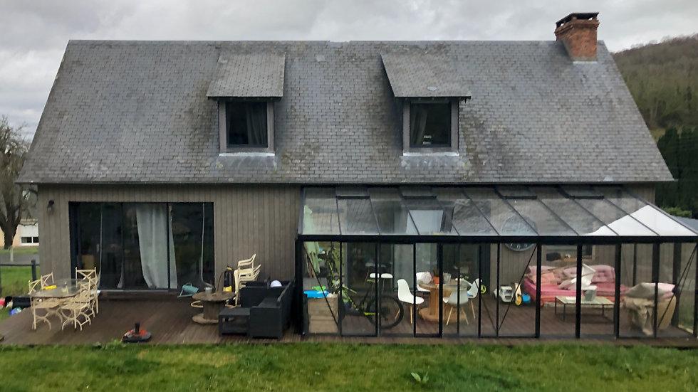 Maison             -       (27210)         Fiquefleur-Equainville