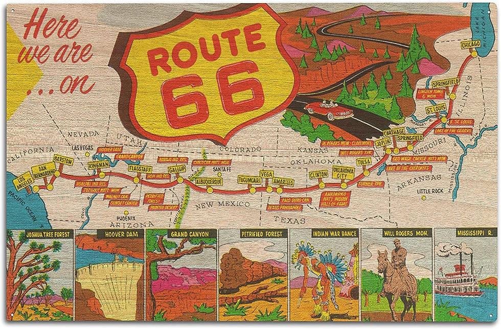 Kick On Route 66 - Travel Trip