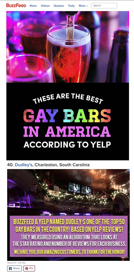 Gay bar charleston