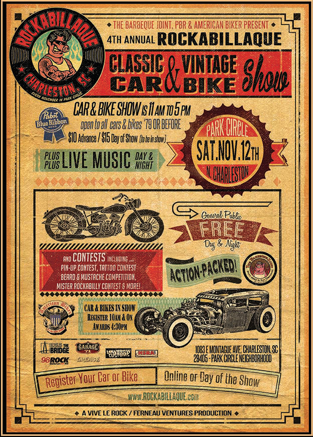 CarBikeFlyer_Rocka2016_FinalShowPoster