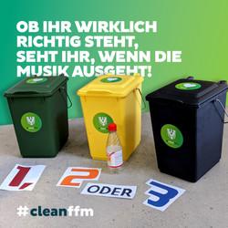"""""""1, 2 oder 3""""-Müllquiz - #cleanffm"""