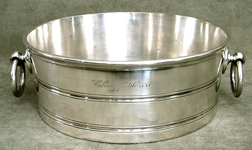 An Early 20th Century Silver Plated Oyster Bucket, English Circa 1930