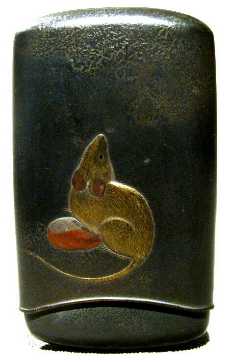 A Very Fine Signed Takamakie Lacquer Cheroot Case, Meiji Period (1868-1912)
