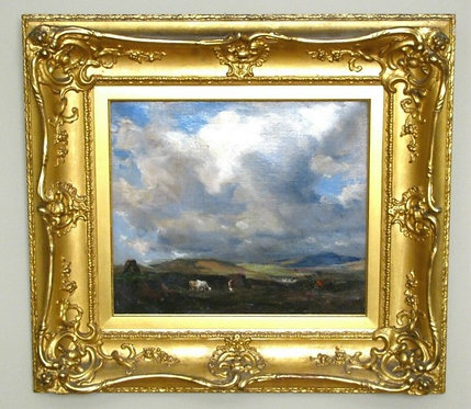 Galloway Landscape, 'Stormclouds at Evening'