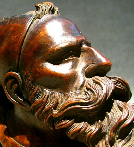 An Early 20th Century Carved French Zouave Soldier Pipe Bowl, Circa 1900