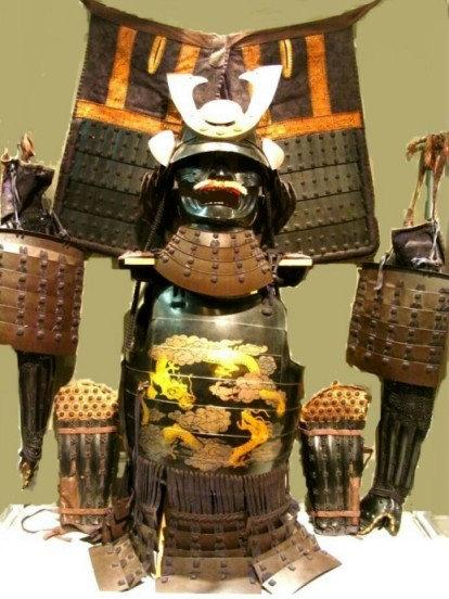 Ceremonial Set of Samurai Armour.