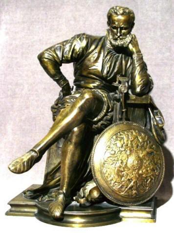 A Fine 20th Century Gilt Bronze Figure, Stamped Tiffany & Company, Circa 1900