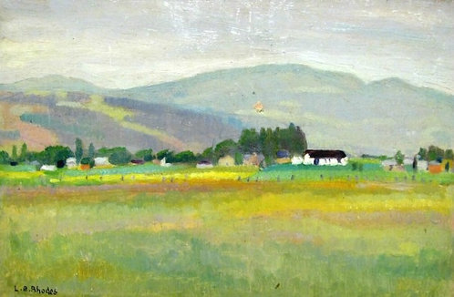 'Charlevoix Countryside, Quebec', One of Four Landscapes by Lily Bell Rhodes
