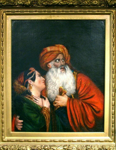 A Finely Executed 19th Century Orientalist Portrait
