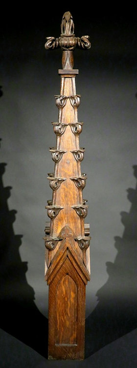 An Architectural Model of a Gothic Spire / Pinnacle, France Circa 1900
