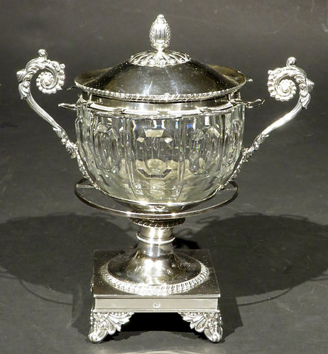 An Early 19th Century French Silver Confiturier by Charles Antoine Amand Lenglet