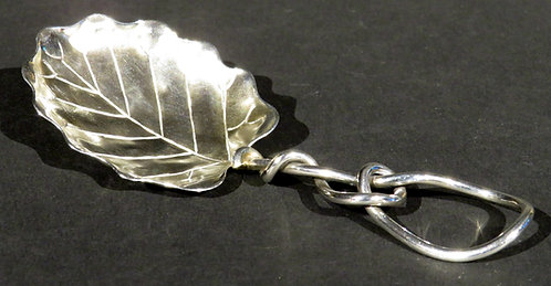 An Early 20th Century Sterling Silver Tea Caddy Spoon, USA Circa 1900