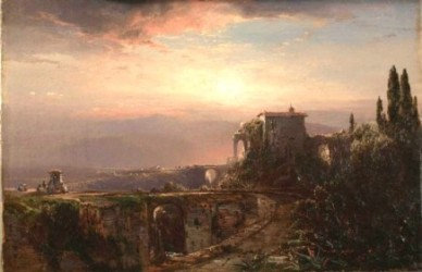 'Florentine Ruins' William Louis Sonntag (1822-1900)