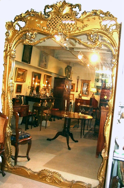 A Fine 19th Century Gilt Framed Pier Mirror of Exceptional Proportions