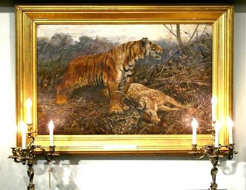 'Tiger', John Trivett Nettleship (1841-1902) British