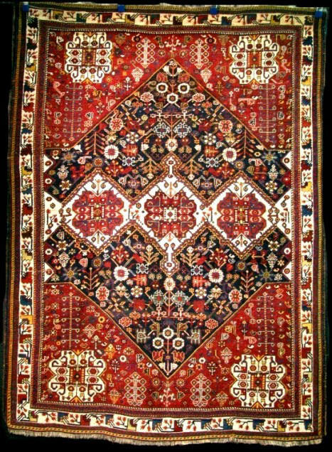 A Very Good 19th Century Qashqai Rug, Circa 1880