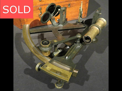 A Fine 19th Century Marine Sextant by William Gerrard, Liverpool Circa 1875