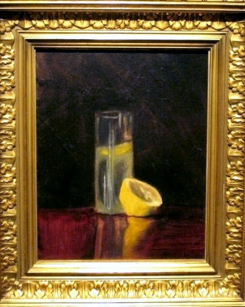An Early 20th Century Still Life of Lemonade, American School Circa 1920