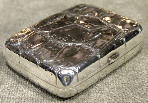 A Victorian Sterling Silver Stamp Case or Change Purse