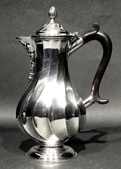 A Fine Arts & Crafts Period Sterling Silver Hot Milk /Hot Water Pot, London 1897