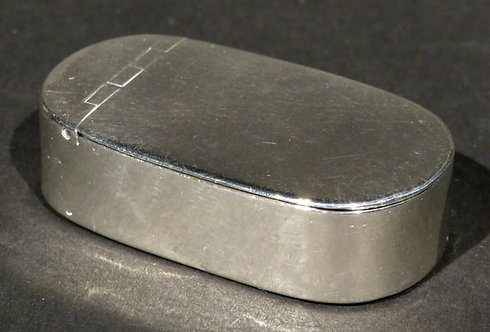 An Early 19th Century Georgian Silver Snuff Box by Thomas Willmore