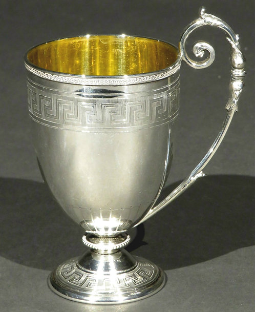 A Very Fine 19th Century Sterling Silver Spirit Cup by Edward & James Barnard