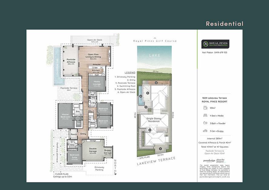 Floor Plan, Gold Coast, Asutralia, Residential, Homes, House