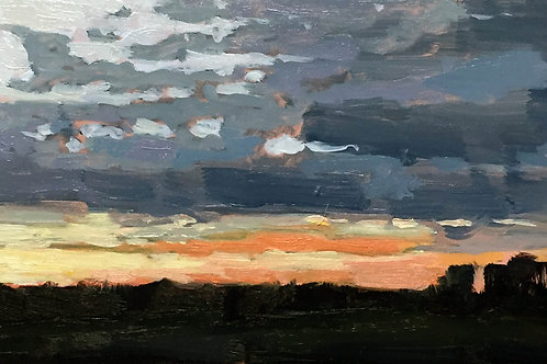 (SOLD) Sunset Study One
