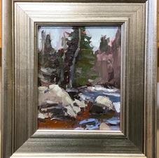 val david pines rocks and rough water