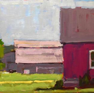our house neighbors barn