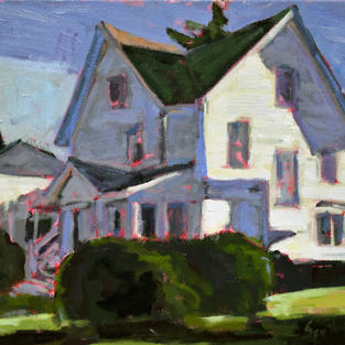 Middlebury in sidelight