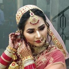 Bridal Makeup - The Wizard Hair Unisex Salon3