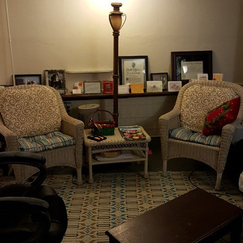 Seating in Studio B