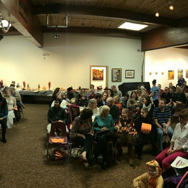 Our crowd at the 2016 Halloween Recital