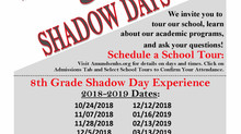 School Tours & Shadow Days