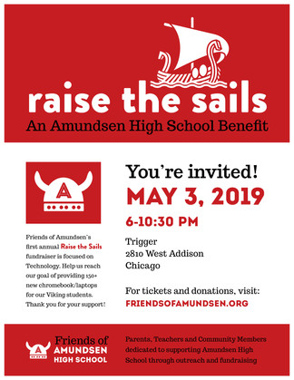 Raise The Sails: An Amundsen High School Benefit - May 3, 2019 - SOLD OUT!
