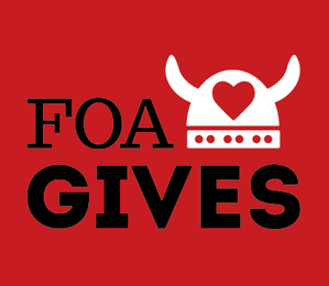 FOA GIVES - A LOT!