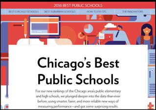 Amundsen High School earns spot on  Chicago Magazine's list of Top High Schools!
